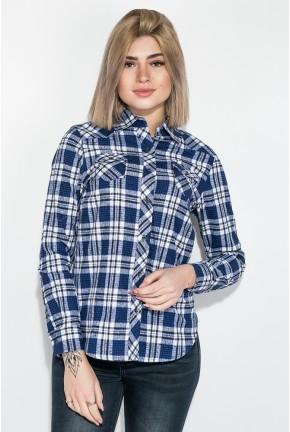 Рубашка женская AG-0009092 Сине-белый