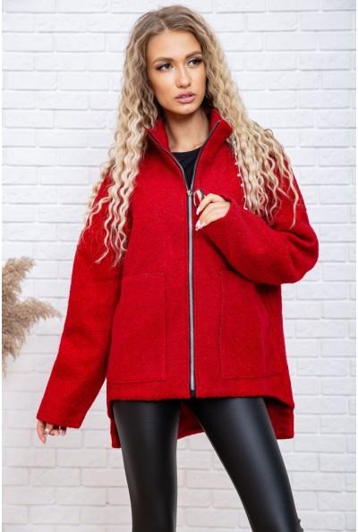 Полупальто женское 102R084 цвет Красный