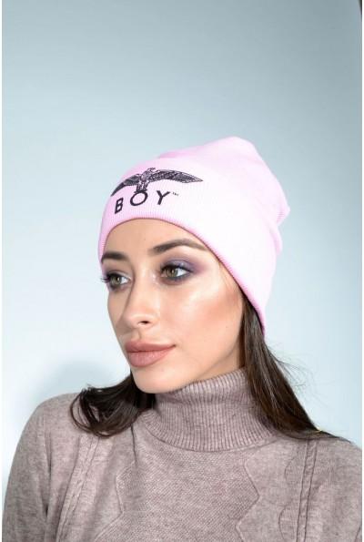 Шапка женская 104R002 цвет Розовый