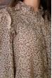 Платье   цвет бежевый 115R428-5 скидка