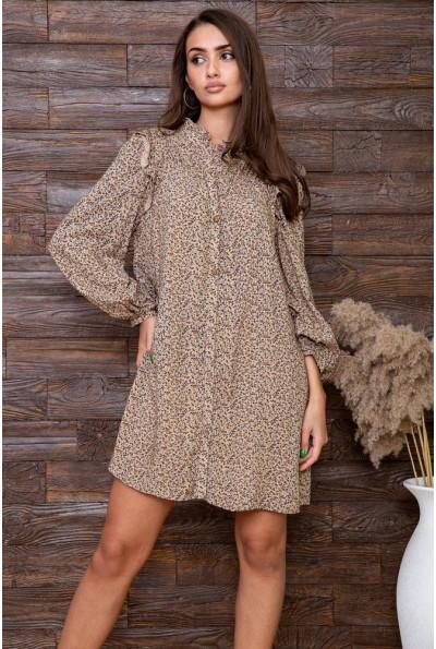 Платье   цвет бежевый 115R428-5 66387