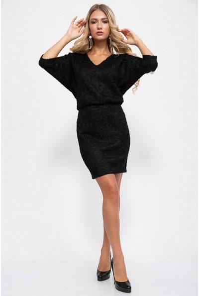 Платье 115R310-1 цвет Черный