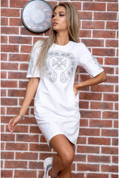 Платье  цвет белый 167R007-3 66250