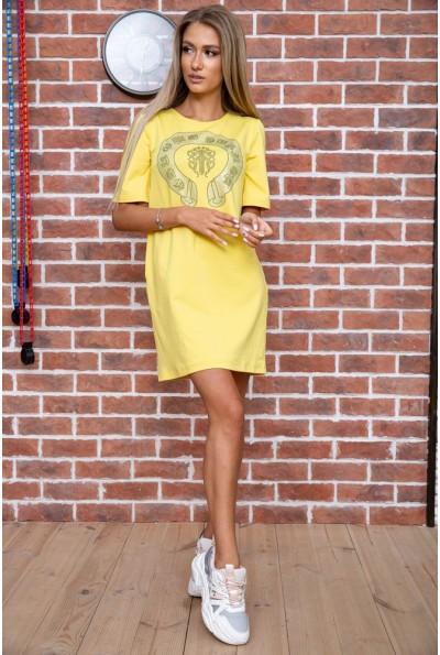 Платье  цвет желтый 167R007-3 66252