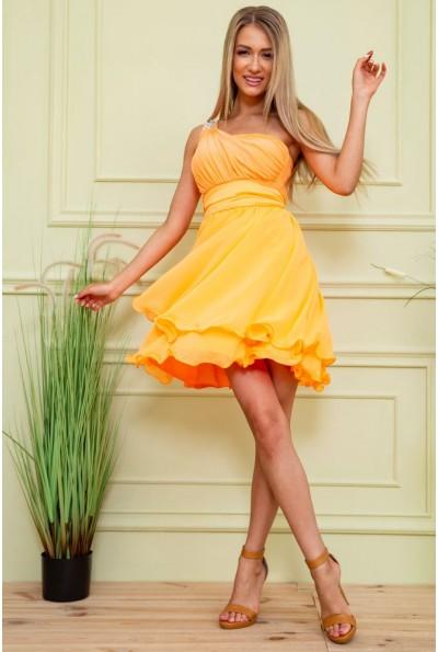 Платье 167R748 цвет Светло-оранжевый 59434