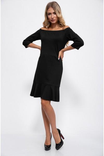 Платье 115R276-3 цвет Черный