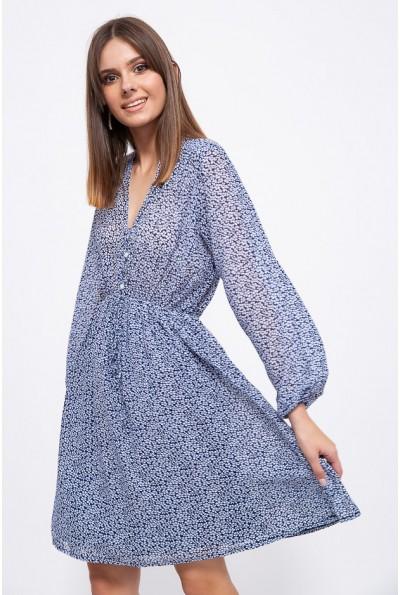 Платье 115R172-2 цвет Сине-белый 39507