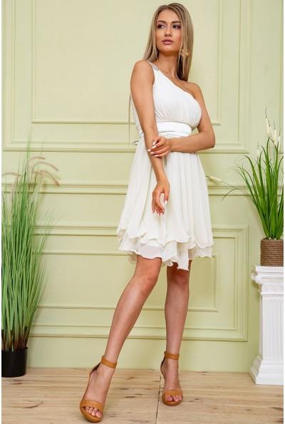 Платье 167R748 цвет Молочный 59428