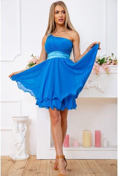 Платье 167R748 цвет Синий 59436