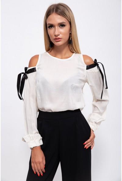 Блузка 115R286-6 цвет Кремовый
