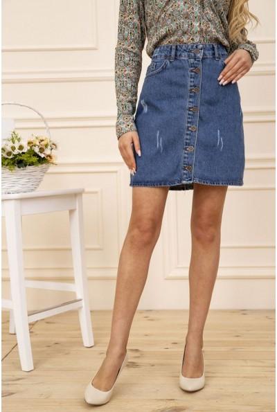 Юбка женская джинсовая цвет Синий 129R028-064