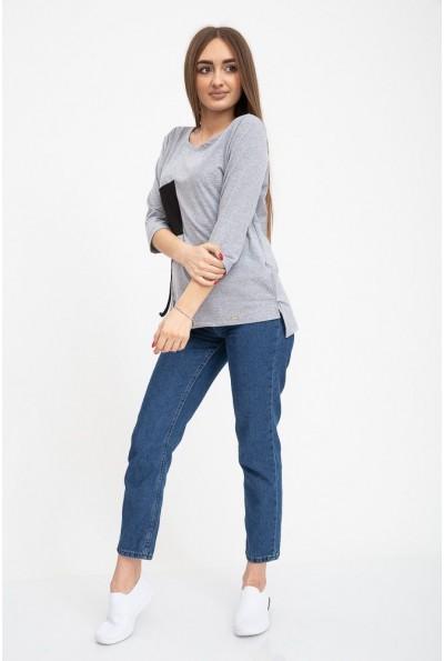 Кофта женская 133R7785 цвет Серый