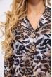 Блуза 115R3481-1 цвет Тигровый скидка