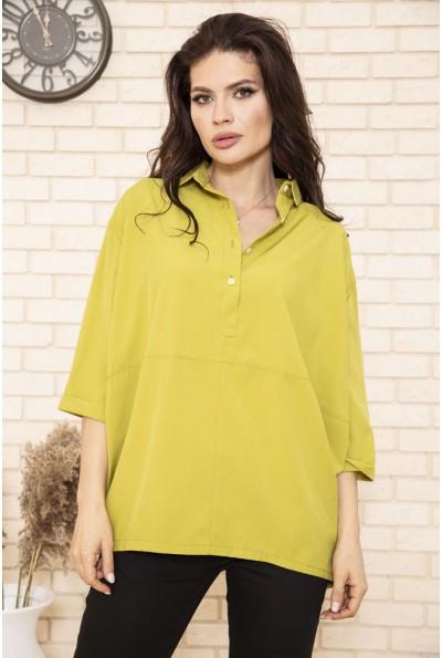 Блуза 115R168-3 цвет Светло-зеленый