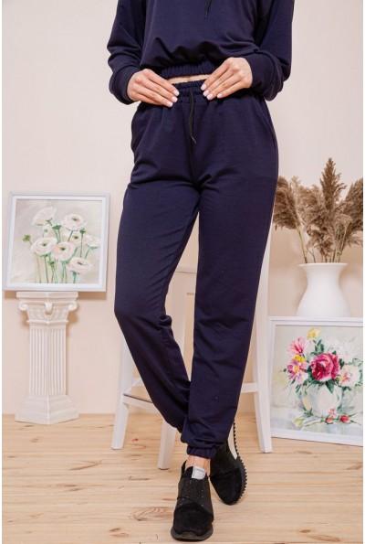 Спорт штаны женские 103R168 цвет Темно-синий