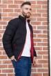 Куртка мужская  цвет черный 129R8088-1 цена 1409.0000 грн