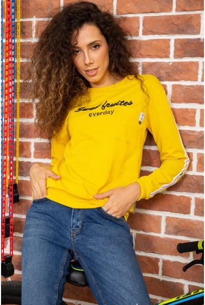 Батник женский  цвет темно-желтый 180R537 64079