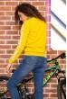 Батник женский  цвет темно-желтый 180R537 стоимость