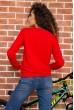 Батник женский  цвет красный 180R537 цена 869.0000 грн