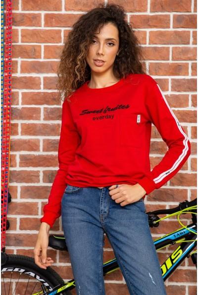 Батник женский  цвет красный 180R537 64069
