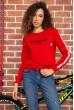 Купить Батник женский  цвет красный 180R537 64069