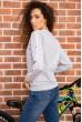 Батник женский  цвет серый 180R537 стоимость