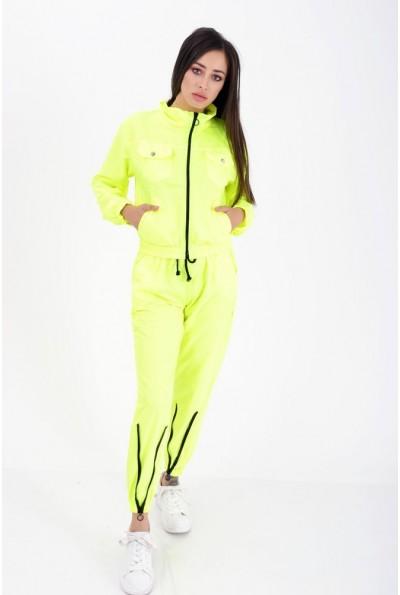 Спортивный костюм женский  цвет неон 103R017