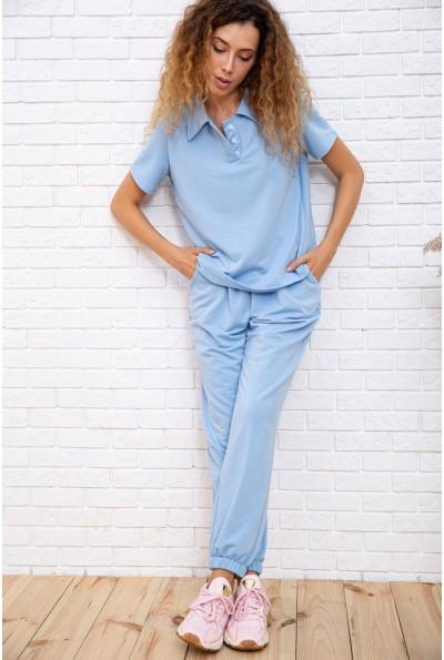 Спорт костюм женский  цвет голубой 181R010 66632