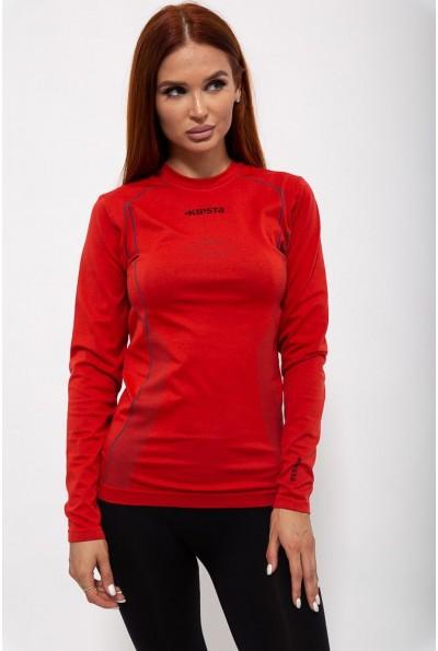 Рашгард женский 117R077 цвет Красный 36800