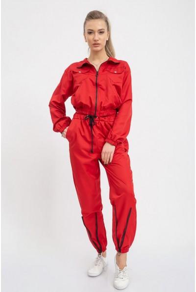 Красный спортивный  костюм женский 103R017