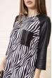 Платье 150R609 цвет Черно-белый цена 709.0000 грн
