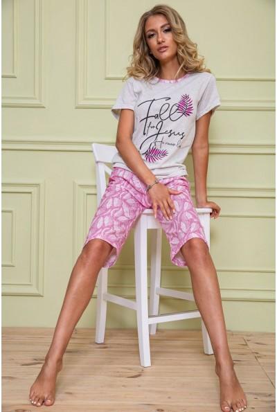 Пижама женская 167R11073 цвет Розовый 62619