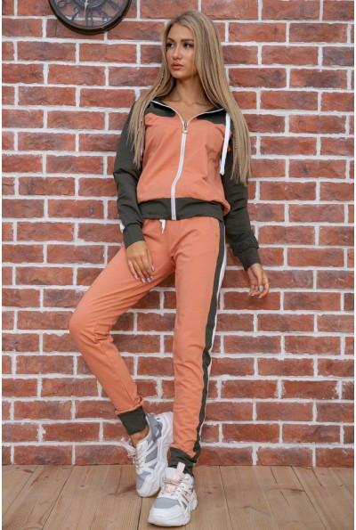 Спорт костюм женский  цвет хаки 102R030-1 41415