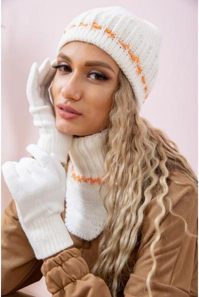 Комплект женский  цвет молочно-оранжевый 167R021 66796