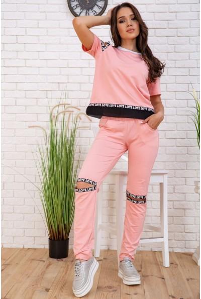 Cпортивный  костюм женский  167R134 цвет Розовый 58071