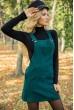 Сарафан женский 153R1072 цвет Темно-зеленый стоимость