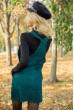 Сарафан женский 153R1072 цвет Темно-зеленый цена 639.0000 грн