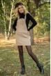 Сарафан женский 153R1072 цвет Темно-бежевый стоимость