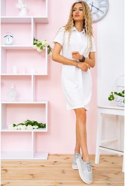 Платье-поло   цвет молочный 119R414 58465