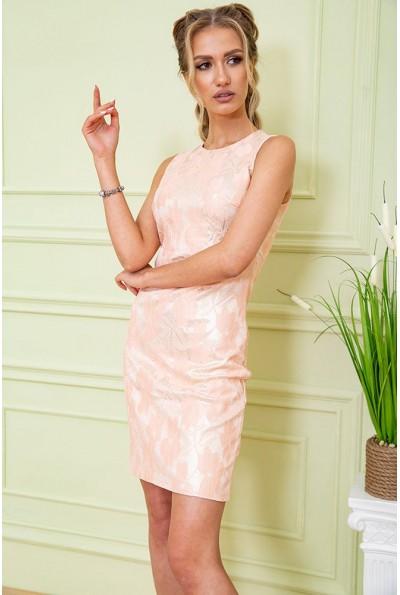 Платье 167R1089 цвет Персиковый 59227