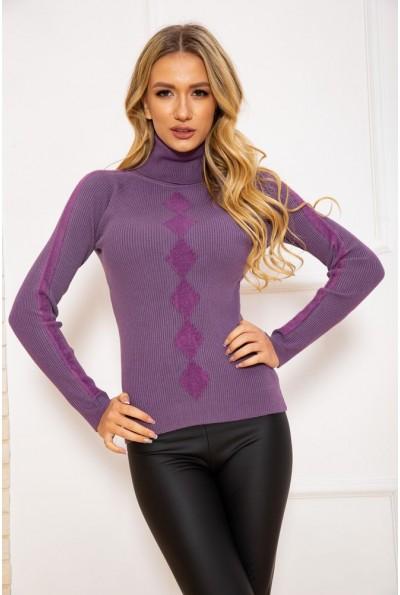 Водолазка женская 131R9037 цвет Фиолетовый 45173