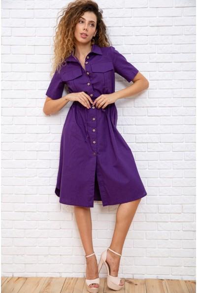 Платье  цвет фиолетовый 181R016 66627