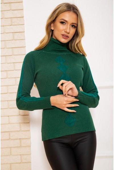 Водолазка женская 131R9037 цвет Зеленый 45157