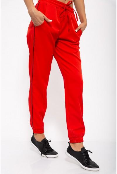 Брюки женские 115R3401 цвет Красный