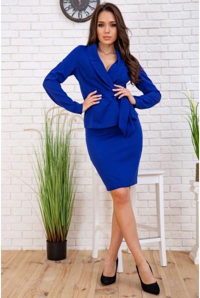 Костюм женский  цвет синий 167R1632 56225