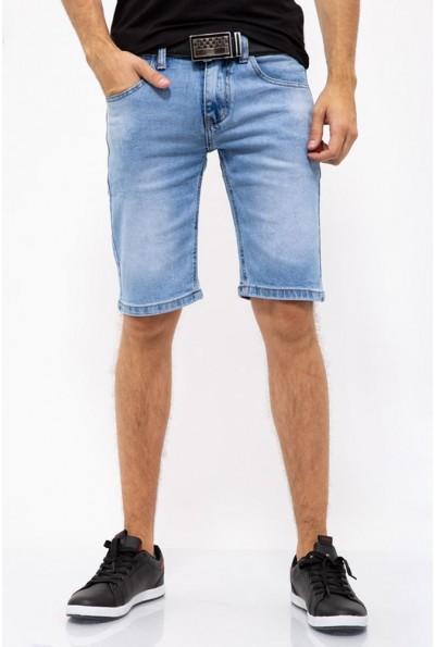 Джинсовые шорты мужские голубые 144R906-2Y
