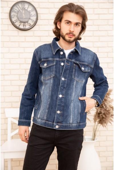 Джинсовая куртка мужская 157R4606 цвет Синий