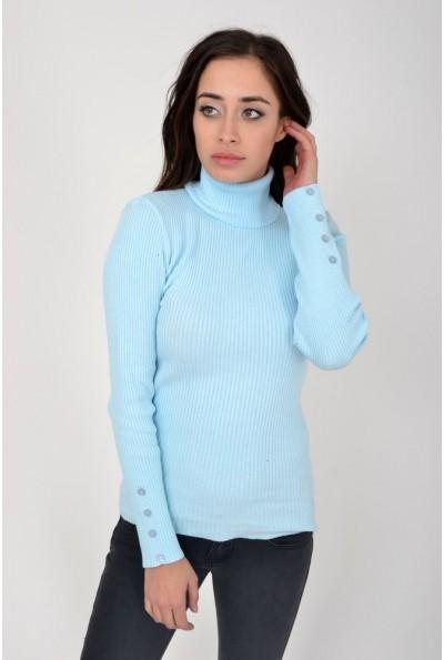 Гольф женский 103R041 цвет Голубой