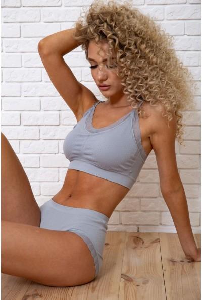 Комплект женского белья  цвет серый 131R074 59873