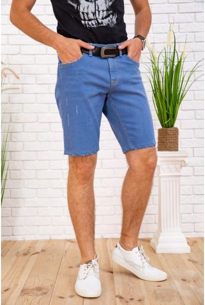 Джинсовые шорты мужские  цвет голубой 129R1952 57813